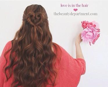 长头发烫大卷发型图片展示图片