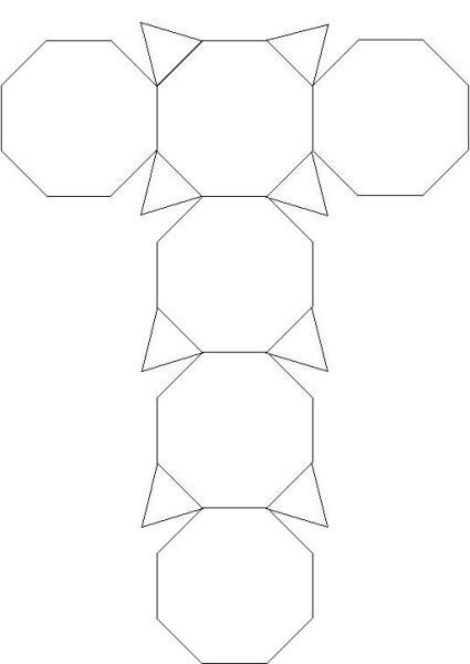 能不能画出这样一个图形的立体图形或者展开图,要求画图片