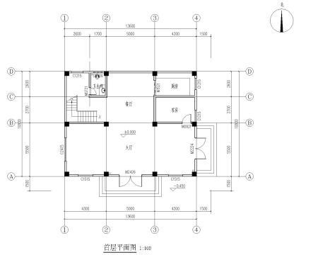 图_80平方三室一厅设计图_80平方米自建房设计图_80平米自建房设计图