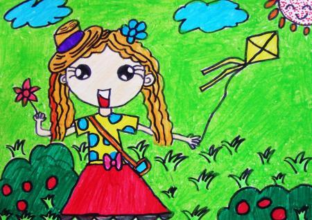小学六年级儿童画作品图片