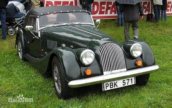 摩根的roadster,英国手工制作历史悠久的汽车品牌高清图片