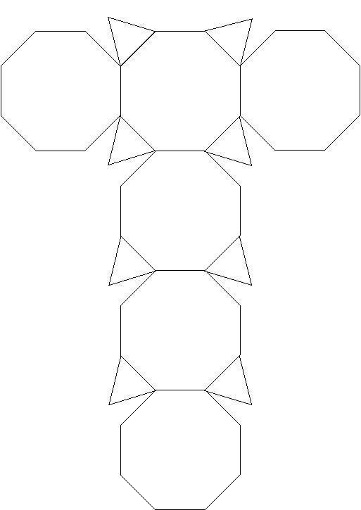 能不能画出这样一个图形的立体图形或者展开图图片图片
